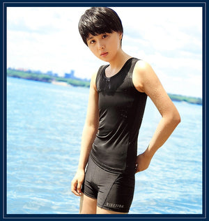 Geminbowl Swimwear with Chest Binder
