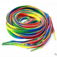 Rainbow Shoelaces - get these on your shoes and show your pride!