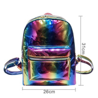 Rainbow Hologram Laser Backpack