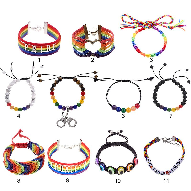 Rainbow Bracelet - Multiple designs