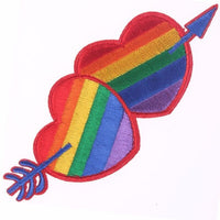 LGBT Rainbow Pride Flag Iron On Patches