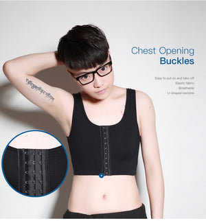 Chest Binder - top hooks & front styles