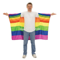 LGBT Rainbow Gay Cape Body Flag Banner