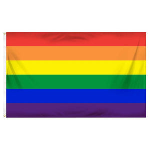 90*150cm Gay Pride LGBT Rainbow Flag