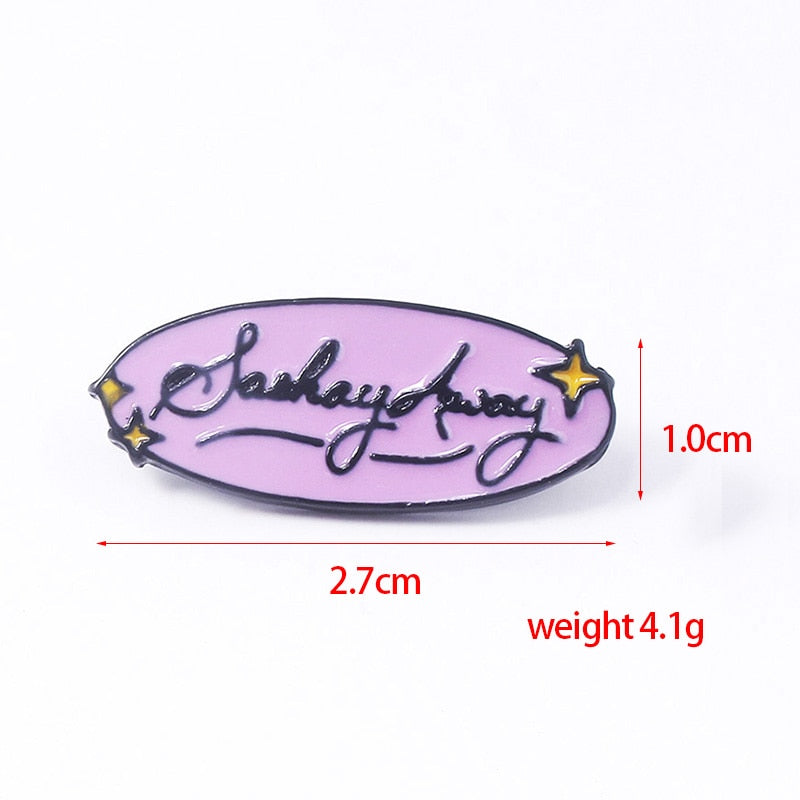 Sashay Away RuPaul Drag Race Pin