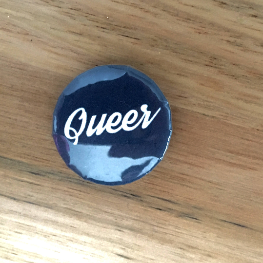 "Queer Pride Button Badge 25mm Button Badge 1"" Button Badge Gay Pride Badge Gay Pride Pin Equality Badge Love Badge Love Button Badge"