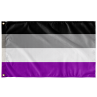 "Asexual Pride Wall Flag 36""x60"""