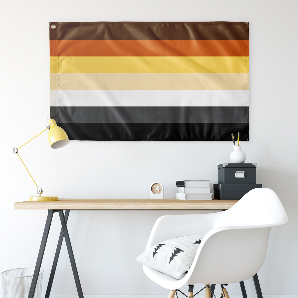 "Bear Pride Wall Flag 30""x60"""