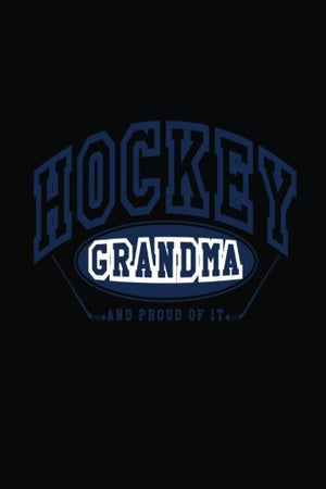 Hockey Grandma: Blank Book Lined, 6 x 9, 108 Lined Pages (diary, notebook, journal)