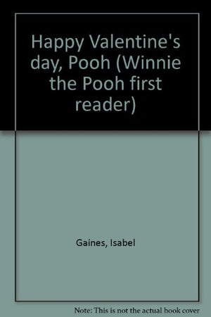 Happy Valentine's Day, Pooh (Winnie the Pooh First Readers)