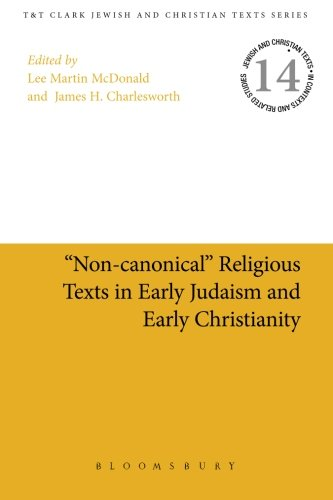"""Non-canonical"" Religious Texts in Early Judaism and Early Christianity (Jewish and Christian Texts)"