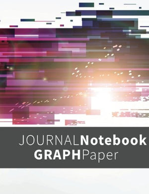 Journal Notebook Graph Paper: Graph Paper Notebook, 8.5 x 11, 120 Grid Lined Pages (1/4 Inch Squares)