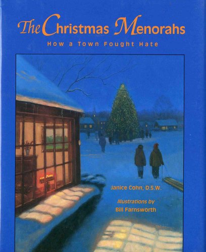 The Christmas Menorahs: How a Town Fought Hate (Concept Books (Albert Whitman))
