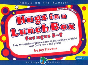 Hugs in a Lunch Box: For Ages 5-7 [With Stickers]