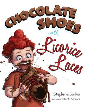 Chocolate Shoes with Licorice Laces