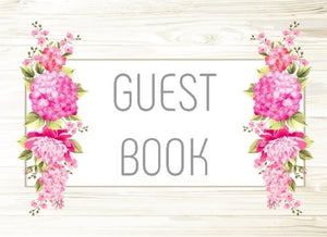 "Guest Book: Birthday Sign In Book 90th, Blank Lined Guest Book For Birthdays, (8.25"" x 6"" Paperback)"