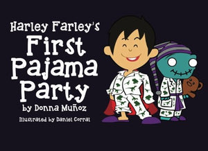 Harley Farley's First Pajama Party (Harley Farley Zombie Books) (Volume 2)