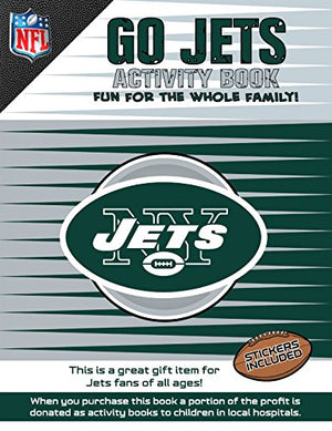 Go Jets Activity Book (NFL Activity Boook)