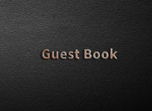 "Guest Book: Celebration Of Life, Blank Lined Guest Book For Memorials & Funerals, (8.25"" x 6"" Paperback)"
