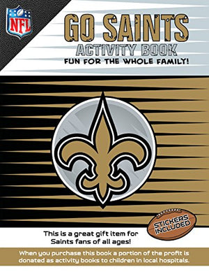 Go Saints Activity Book