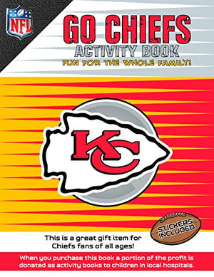 Go Chiefs Activity Book (NFL Activity Book)