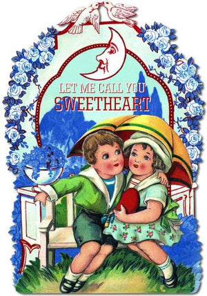 Let Me Call You Sweetheart: A Valentine Shape Book (Shape Books)