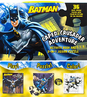 Batman Caped Crusader Adventure (Activity Book and 2-In-1 Jigsaw Puzzle)