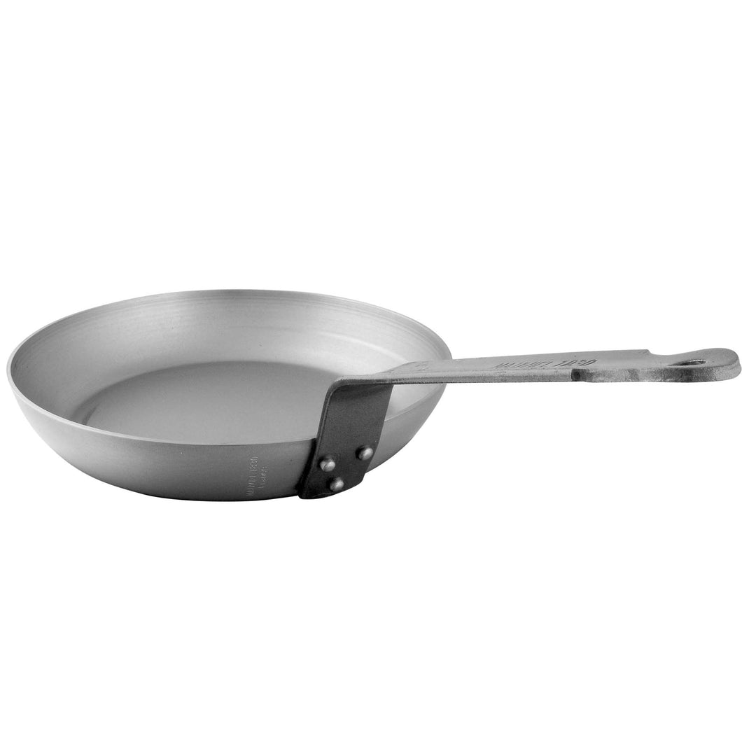 MAUVIEL BLACK STEEL FRY PAN 8