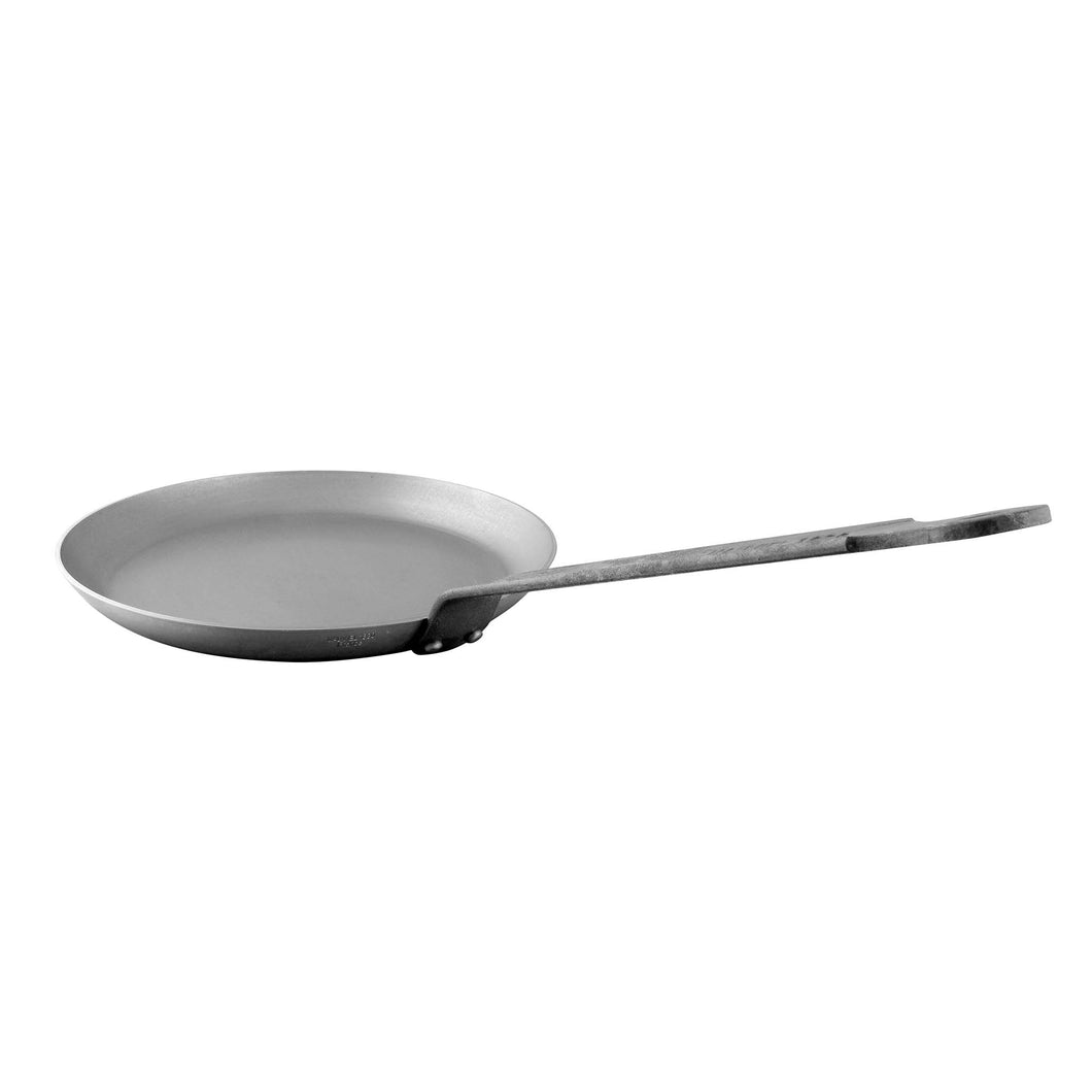MAUVIEL BLACK STEEL CREPE PAN