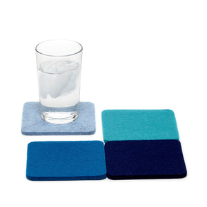 GRAF LANTZ COASTER SET/4- ASSORTED COLORS