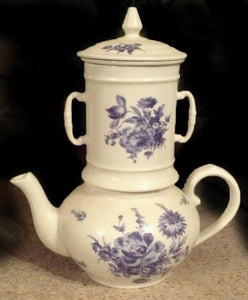 FRENCH PORCELAIN DRIP COFFEE POT