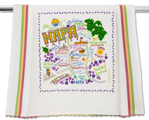 CATSTUDIO NAPA VALLEY DISH TOWEL