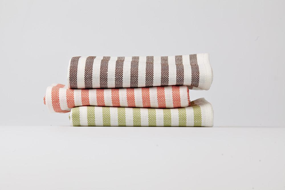 CIA STRIPED KITCHEN TOWELS