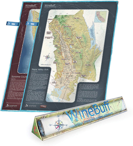 WINEBUFF NAPA VALLEY/ SONOMA COUNTY MICROFIBER TOWEL