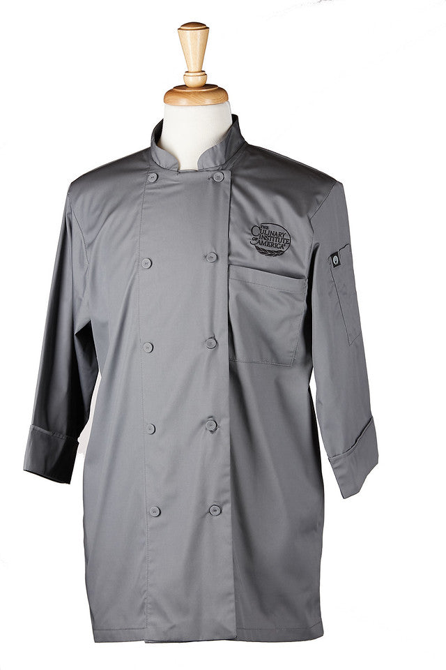 CIA Chef Coat Grey
