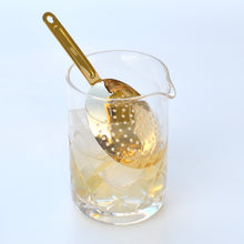 GOLD JULEP STRAINER