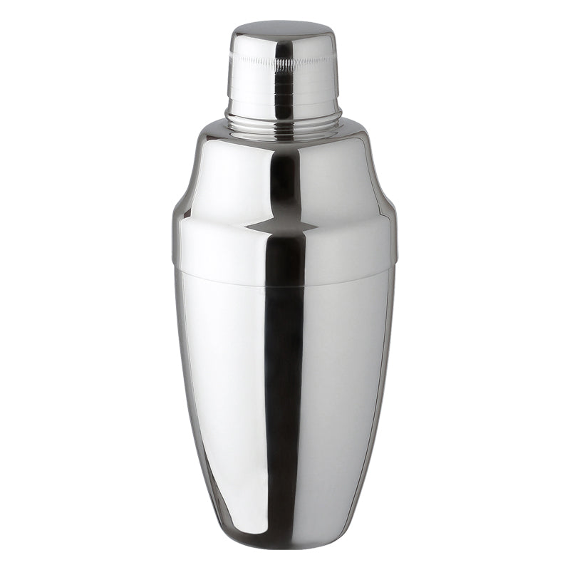 STAINLESS STEEL COBBLER SHAKER, 500 ML