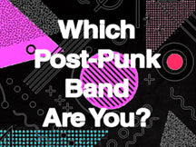 Instagram Filter - Which Post-Punk Band Are You?