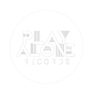 play alone records logo