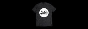 Shirt - Post-Punk Shirt - Play Alone Records Logo