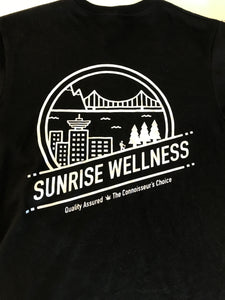Vancouver Skyline Short Sleeve Shirt by Sunrise Wellness