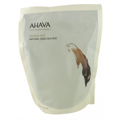 white package of ahava dead sea mud.