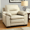 Parma Contemporary Chair, Ivory