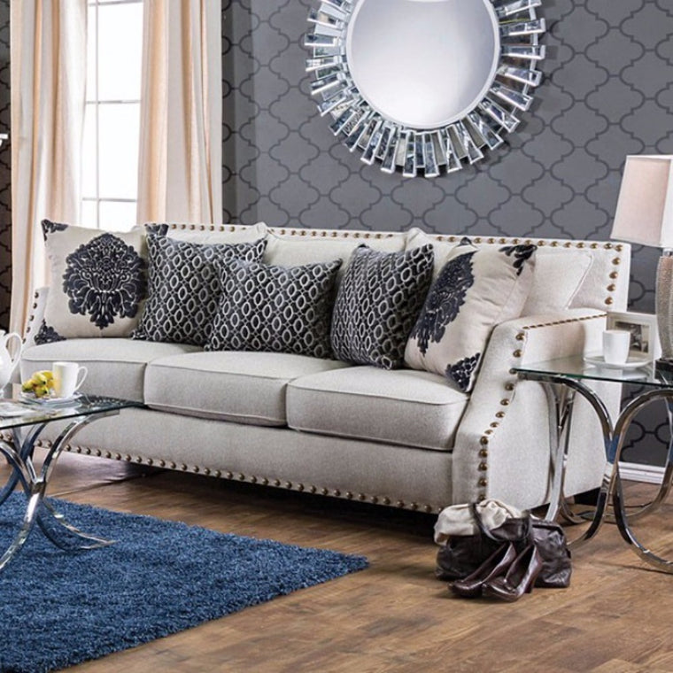 Attractive Cornelia Sofa In Beige