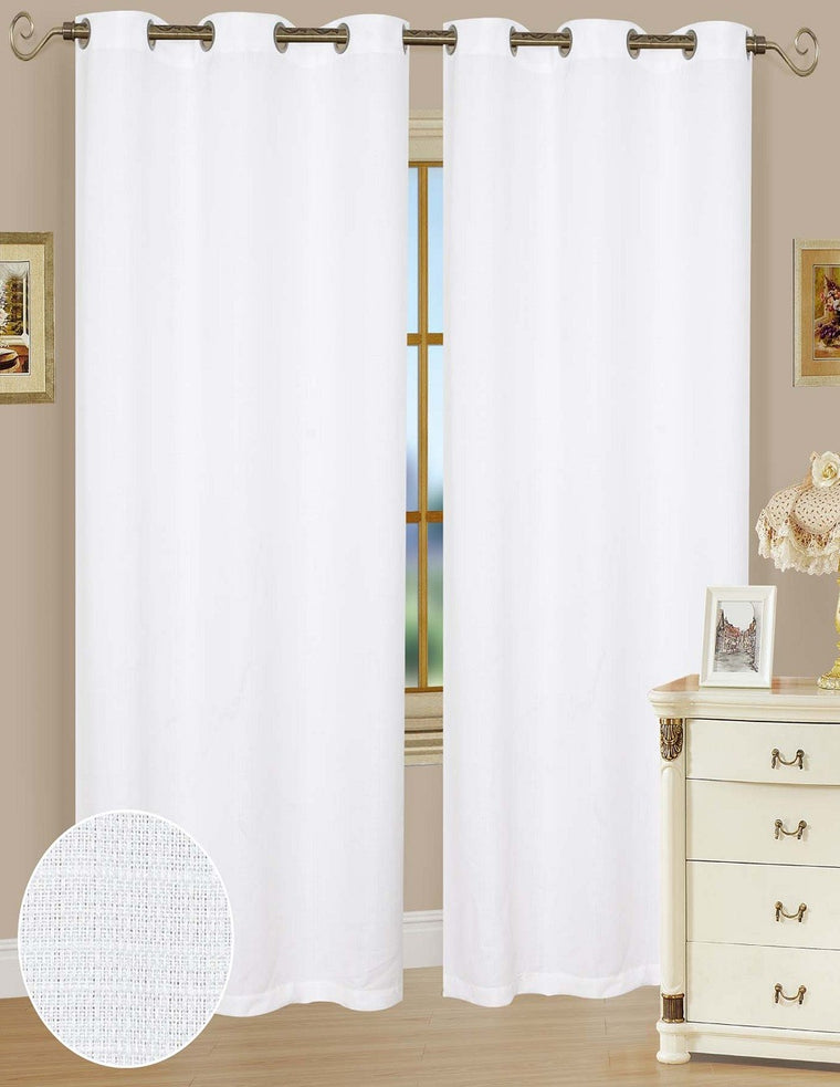 Ashley Grommet Curtain Panels, twin pack