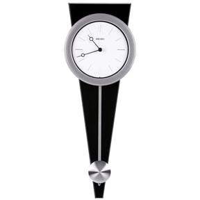 Contemporary Wall Clock with Functional Pendulum Design