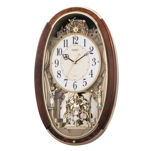 Ferris Wheel Trumpet Boys Pendulum Wall Clock - Plays Music