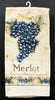 Merlot Grape Kitchen Hand Towel