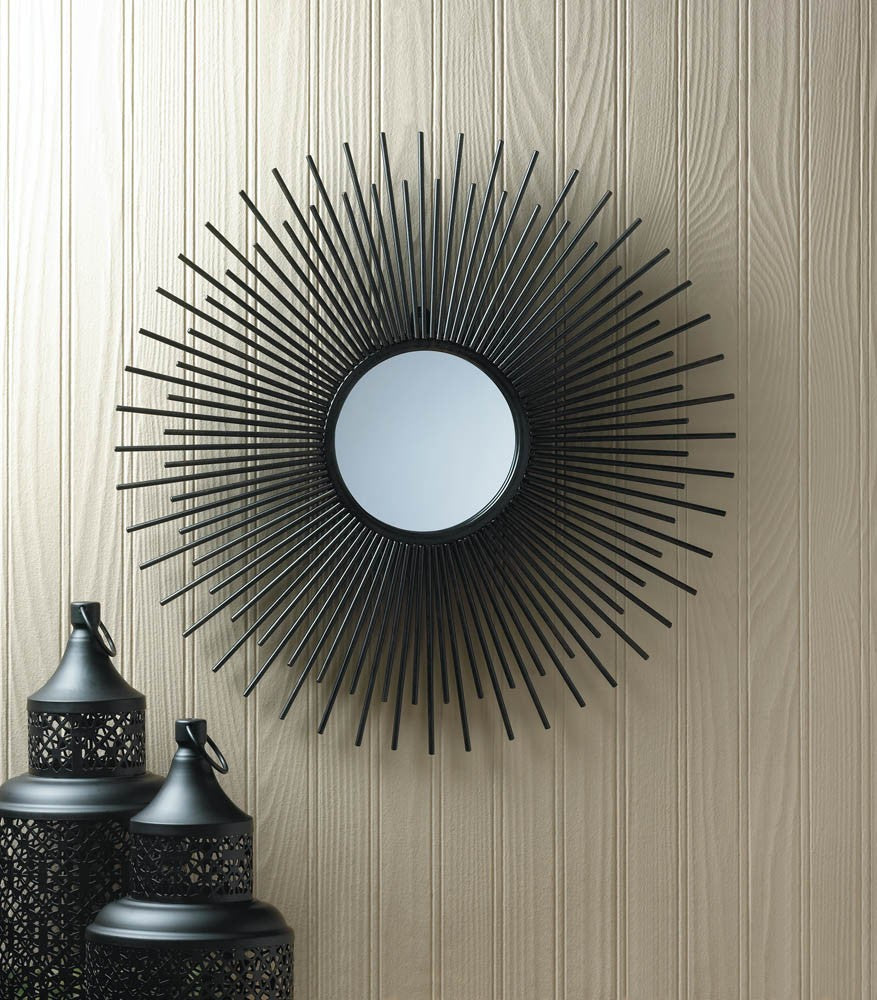 Iron Rays Wall Mirror