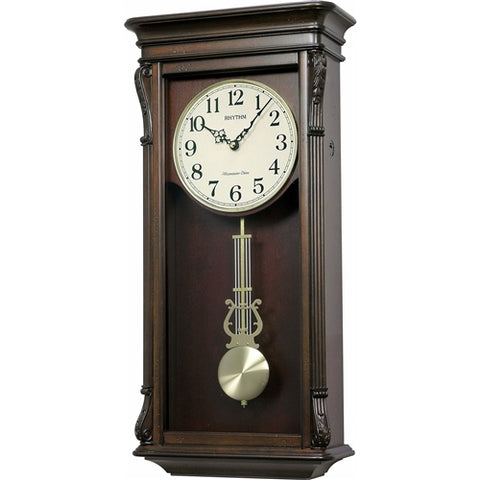 Melodies Wall Clock with Automatic Nighttime Melody Shut Off
